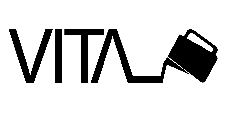Het logo van Vita